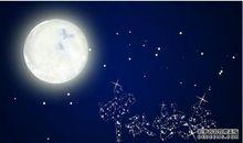 中秋关于月亮的描写