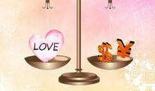 爱情与金钱的句子