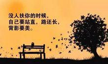 感悟人生励志句子