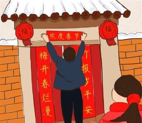 春联作为一种独特的文学形式在中国历史悠久