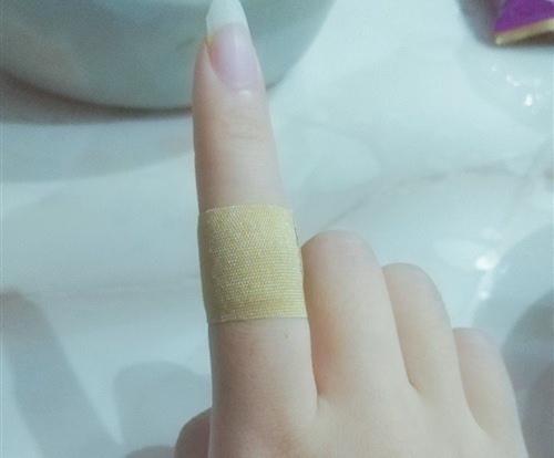 割断手指时
