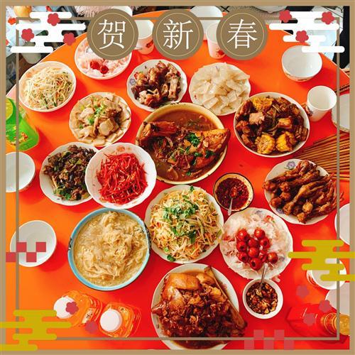 春节是家庭团聚的日子