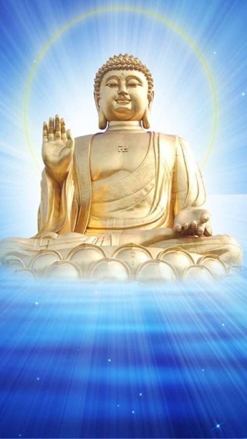 我为佛陀的祝福祈祷