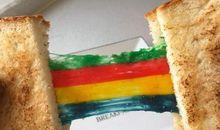 彩虹的句子短一点