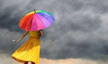 形容下雨天的心情短语
