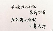 唯美的句子说说心情英文句子