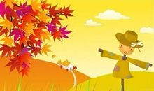 比喻句大全秋天